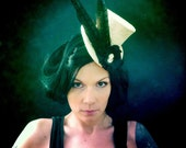 Steampunk Victorian Top Hat - Countess : READY TO SHIP