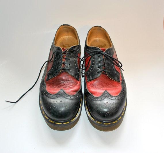 Vintage 90s Doc Marten Two Tone oxford shoes  Size 6