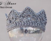 PDF CROCHET PATTERN- Newborn 'Jeweled' Crown