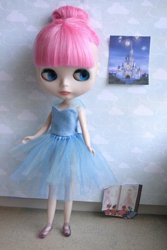 Disney Princess Tutu for Blythe- Cinderella