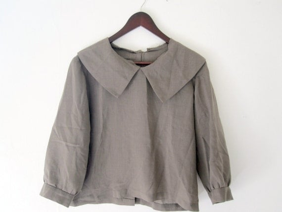 40s Blouse- Large: Reserved for Kimberly