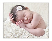 Little Lamb Felt  Headband Photography Prop Easter  Christmas Baby Shower Gift Newborn Infant