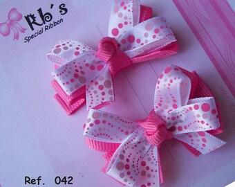50 pairs hair bows wholesale