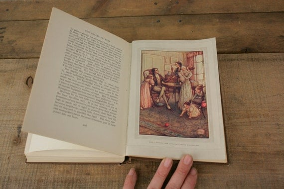 Vintage Antique Hardcover Book Essays of Elia Charles Lamb 1910