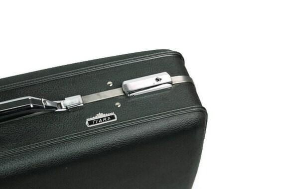 Vintage Luggage Suitcase American Tourister Tiara Gray
