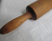 Antique Hand Made Farmhouse Rolling Pin  TREASURY ITEM