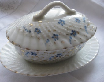 Child's China Tureen with Lid