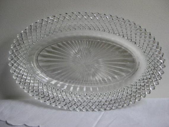 Vintage Miss America Depression Glass