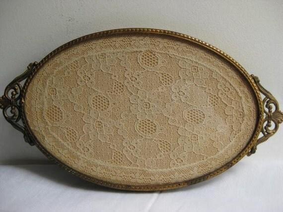 Antique Vanity Tray / Pin Dish /  TREASURY ITEM