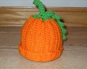 1 Sweet little pumpkin hat for your new little punkin