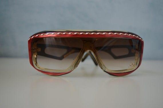 Vtg 80s RareVintage deadstock Claudia Carlotti Sunglasses eyewear prescription Chris Brown