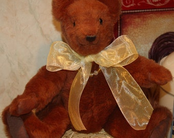 Handcrafted Brown Teddy Bear
