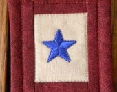 Blue Star Ornament
