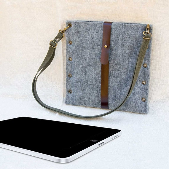 PORTEL for iPad with strap (portrait mode)