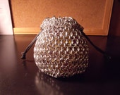 Chainmail Dungeons and Dragons Dnd RPG Dice Bag Medium 1/4