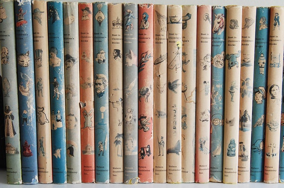 Collection of Best in Children's Books - Set of 33 Books With Original Dust Jackets