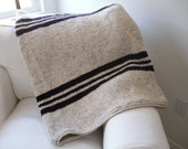 Chunky Oatmeal Throw