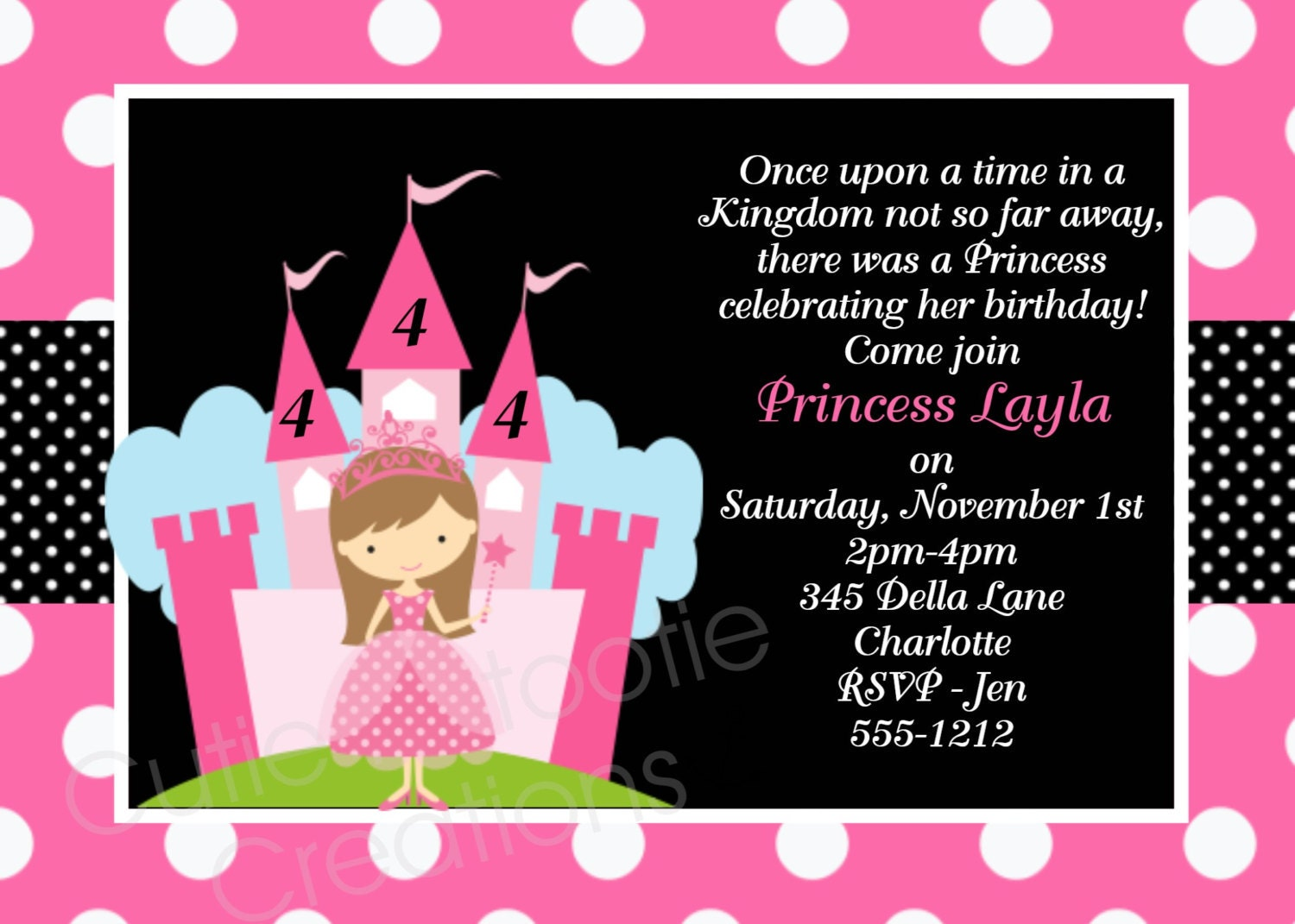 Prince Birthday Invitation as awesome invitations template