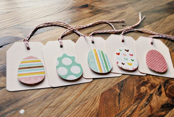 easter tags handmade easter gift tags easter egg tags fabric egg tags by oscar & ollie