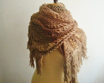 Extra Large Knit Scarf Pattern, Oversized Scarf Knitting Pattern