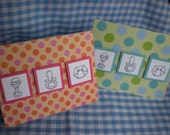 Handmade Baby theme Congratulations Card