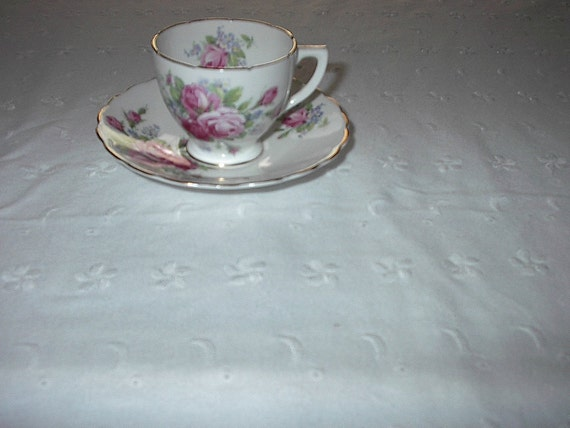 Tea Cup set Rosina made in England Bone China