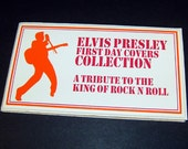 Elvis Presley First Day Covers Collection Stamps