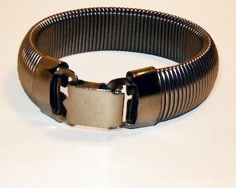 Silvertone Expandable Metal Bracelet