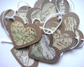 Atlas Love Vintage Heart Garland