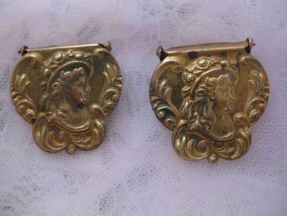 Antique Belt Buckles Victorian C. 1800's