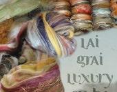 LaiGrai Luxury Fiber Batt Clubs. 3 month. 2-2.5 ounces.