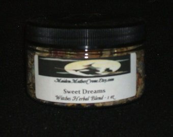 Sweet Dreams Herbal Blend Sleep Relaxation Sweet Dreams Protection Nightmares Night Terrors Restlessness