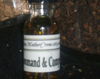 Commando Oil Wicca Pagan Spirituality Religion Ceremonies Hoodoo Metaphysical MaidenMotherCrone