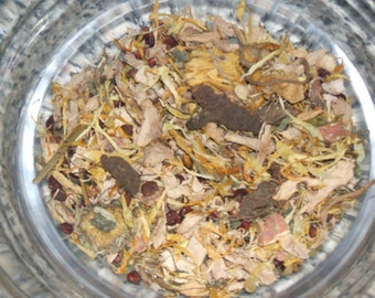 Court Herbal Blend Wicca Pagan Spirituality Religion Ceremonies Hoodoo Metaphysical MaidenMotherCrone