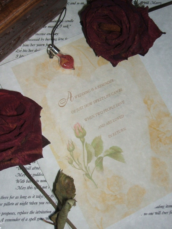 Marriage Proposal Spell In A Box Kit Wicca Pagan Ritual Ceremonies Spirituality