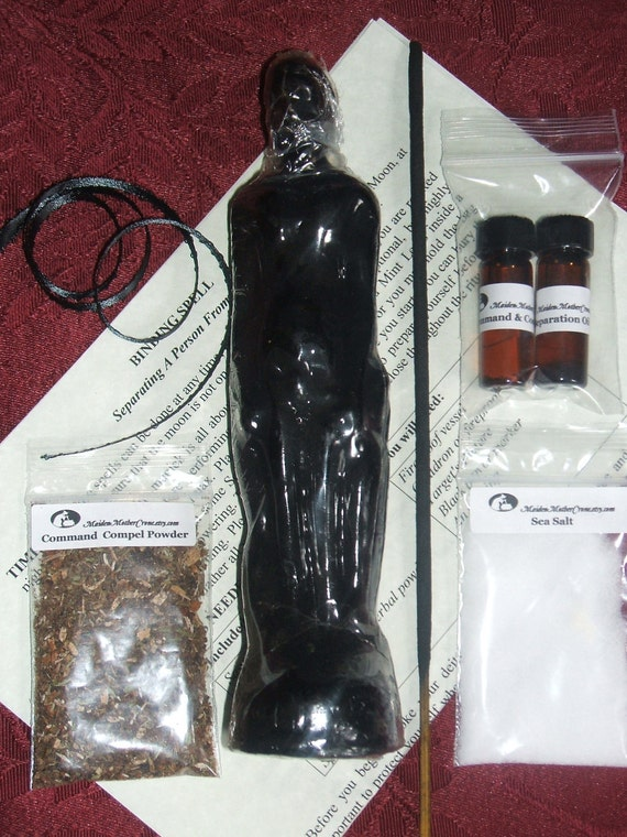Banishing Separation Spell Kit Wicca Pagan Rituals Ceremonies Spirituality Conjure Metaphysical MaidenMotherCrone