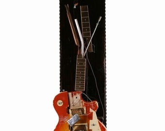 Slash Full Size Electric Guitar Sculpture by Chris Blake Chappell