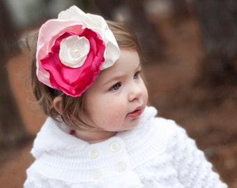 toddler headband, Flower girl headband, flower girl hair accessory, baby headband