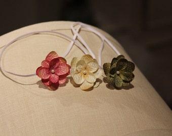 baby starter set, small flower headbands, petite starter set, newborn photography props, small flower Adult headbands, gift set