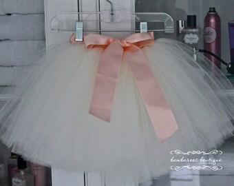 white flower girl tutu, flower girl tutu skirts, tulle dress