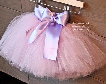 tutu skirt, flower girl dress, Soft Tulle Lavender and Purple tutu, Bridal, Weddings, Flower Girls CUSTOM sewn tutus