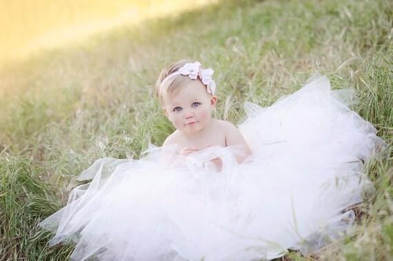 baby headband, pink Small Flower Headband, newborn headband, pearls crystals french bridal veil, Photography Props, Flower Girl headband