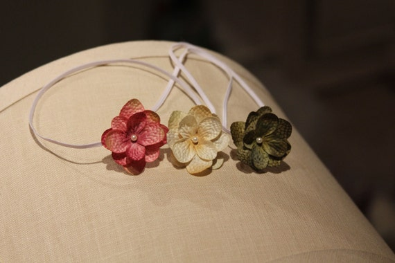 baby starter set, small flower headbands, petite starter set, newborn photography props, small flower Adult headbands, gift set