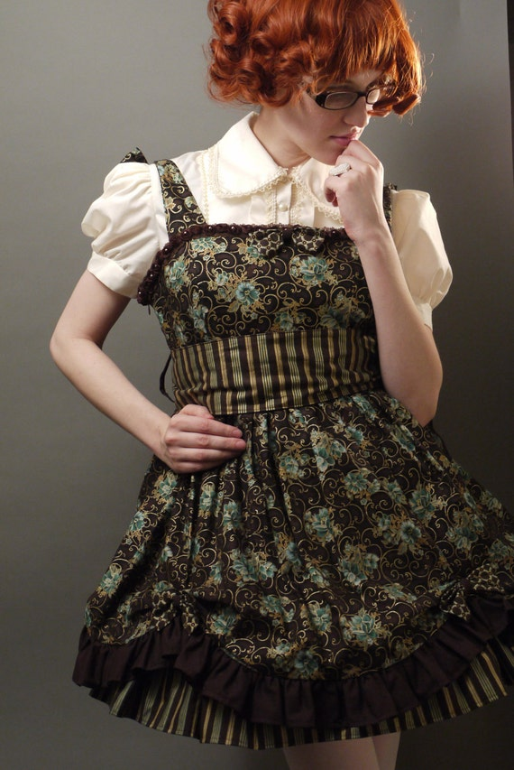 Steampunk Lolita Babydoll JSK Summer Dress - Large