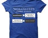 Wolowitz's Charm School, Big Bang Theory T-Shirt (Mens, Ladies)