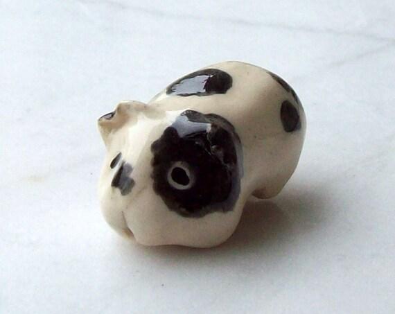 Guinea Pig/ Cavy Handmade Miniature Terrarium Figurine Collectible
