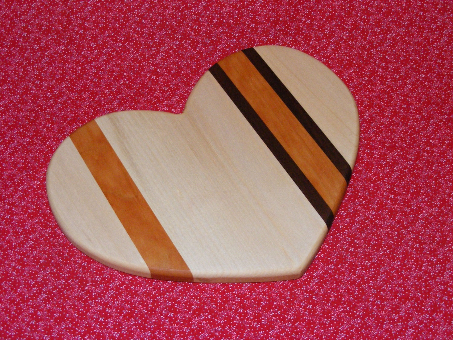 Heart Shaped Cutting Board Trivet Valentine Gift Free