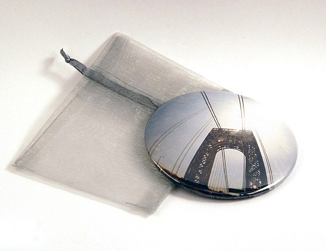 george washington bridge pocket mirror. Black Bedroom Furniture Sets. Home Design Ideas