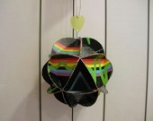 Pink Floyd Dark Side Of The Moon Album Cover Ornament Made Of Record Jackets