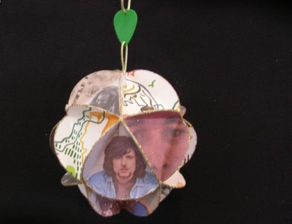 CSNY Album Cover Ornament Made Of Record Jackets Crosby Stills Nash & Young